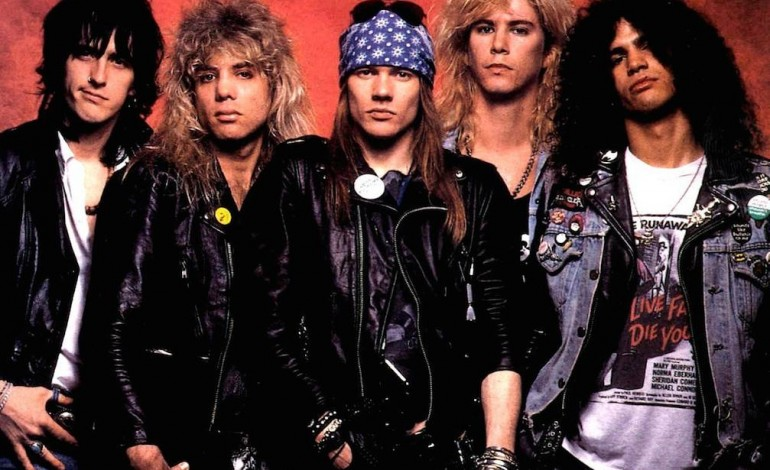 Guns N' Roses Billboards Spark Rumours of 'Appetite For Destruction' Line-Up Reunion