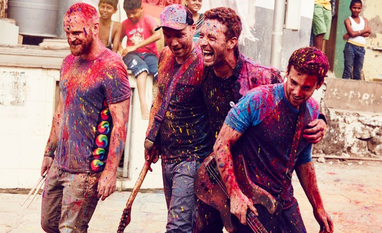 Coldplay Announce New Album 'Music Of The Spheres'
