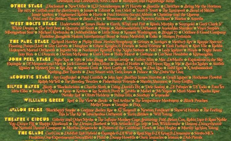 Glastonbury full line up announced!