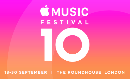 10 Headline Acts Announced for Apple Music Festival including Britney Spears and Elton John