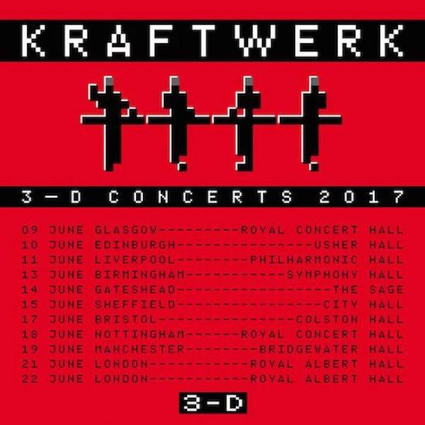 Kraftwerk D Tour Dates
