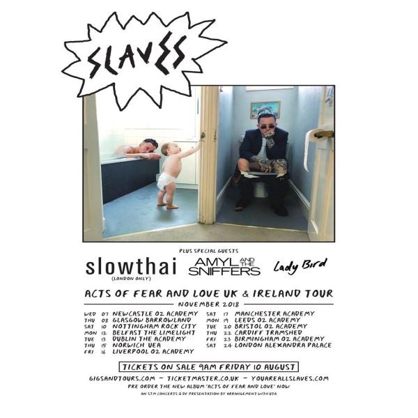 slaves tour