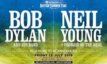 Bob Dylan and Neil Young to Headline British Summer Sessions 2019