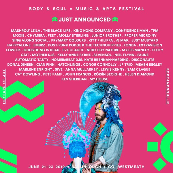 Body & Soul Festival Poster
