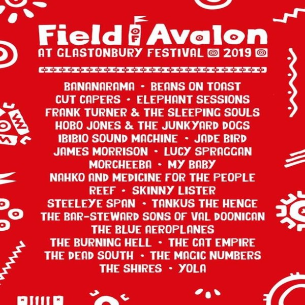 Glastonbury Field of Avalon