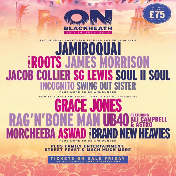 OnBlackheath Festival poster