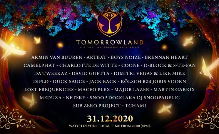 Tomorrowland's Virtual New Year's Eve Festival Includes David Guetta, Diplo and Snoop Dog