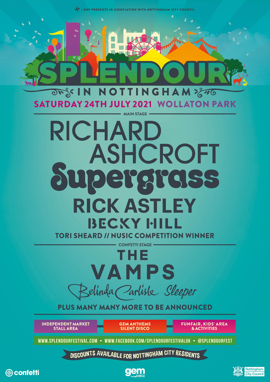 Splendour Festival in Nottingham To Go Ahead