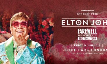 Sir Elton John Announced To Perform At BST Hyde Park 2022
