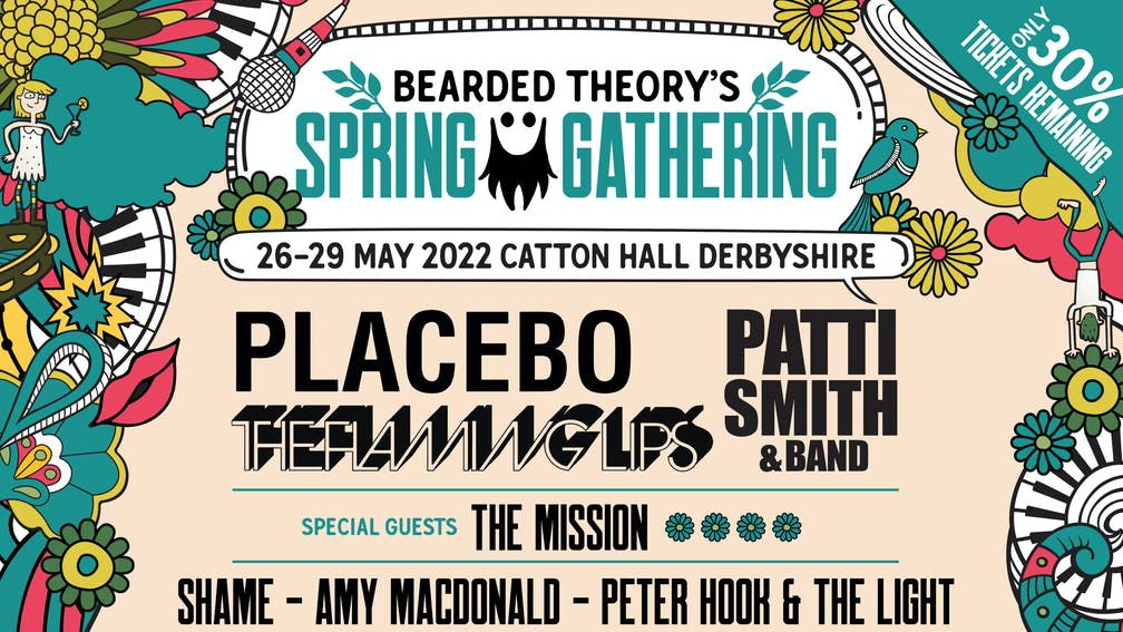 Bearded Theory's Spring Gathering Festival Announce new Line up for 2022